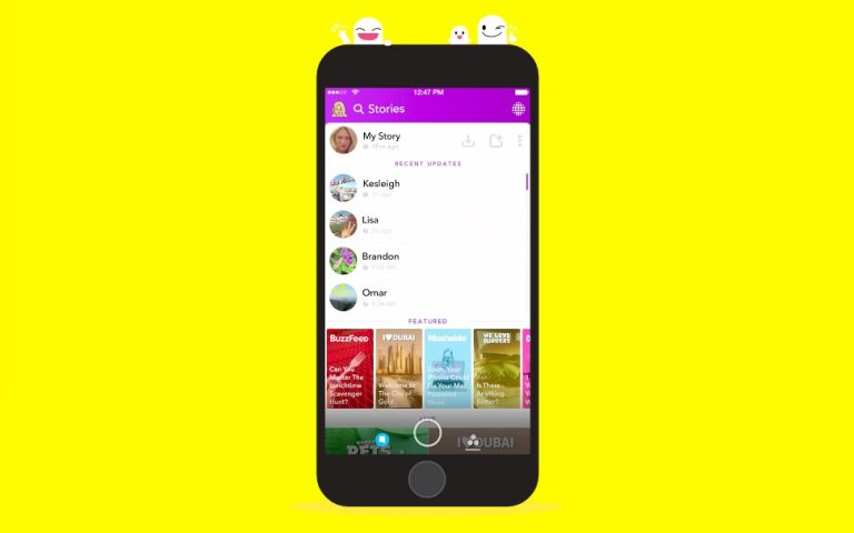 Snapchat fr Android - Download
