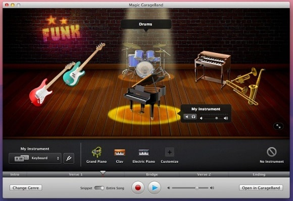 GarageBand for Windows Features