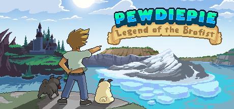 PewDiePie Legend of Brofist logo