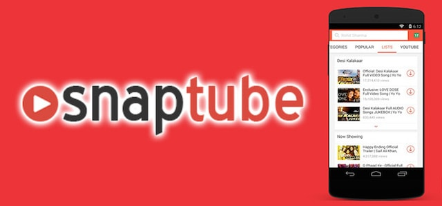 SnapTube for android